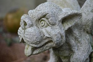 Gargoyles sind ein richtiger Blickfang