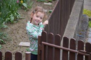 Machen Sie Ihren Garten kindersicher