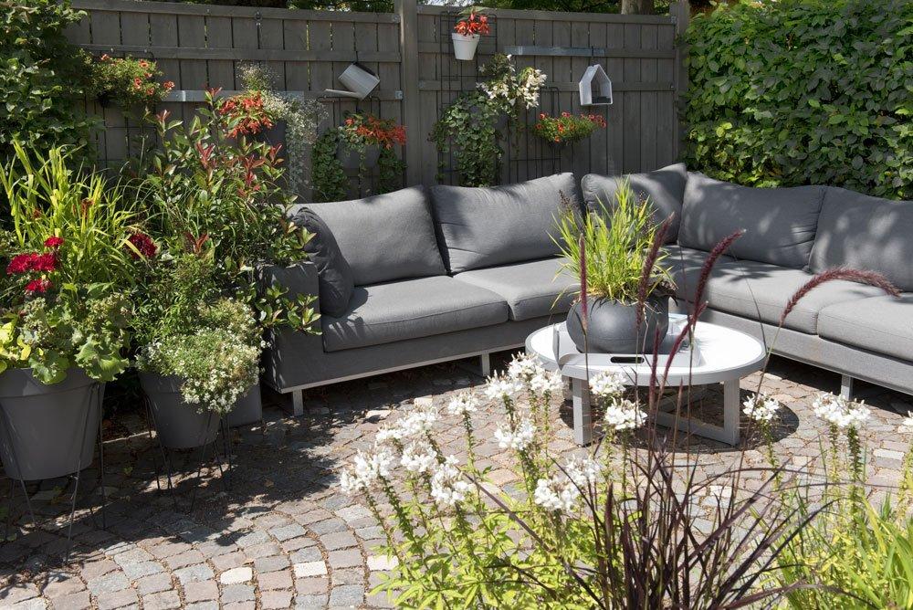 Gartenecke gestalten