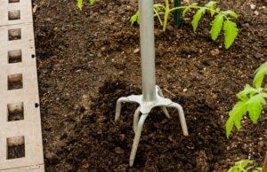 Boden bearbeiten Grabegabel