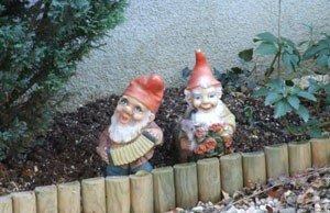 Gartenzwerge aufstellen - ja oder nein?