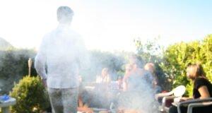 Rauchbelästigung Grillen