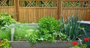 Hochbeet Garten rückenfreundlich