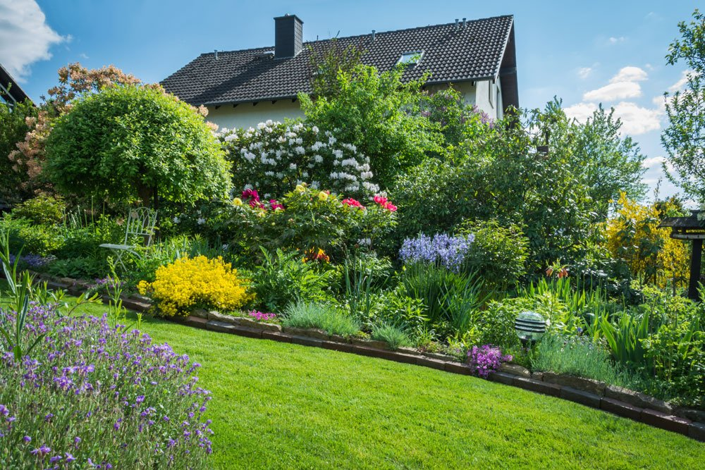 Garten Hanglage