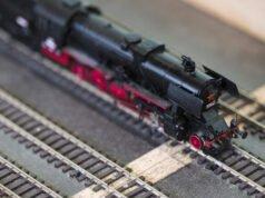Gartenbahn Schienenreinigung