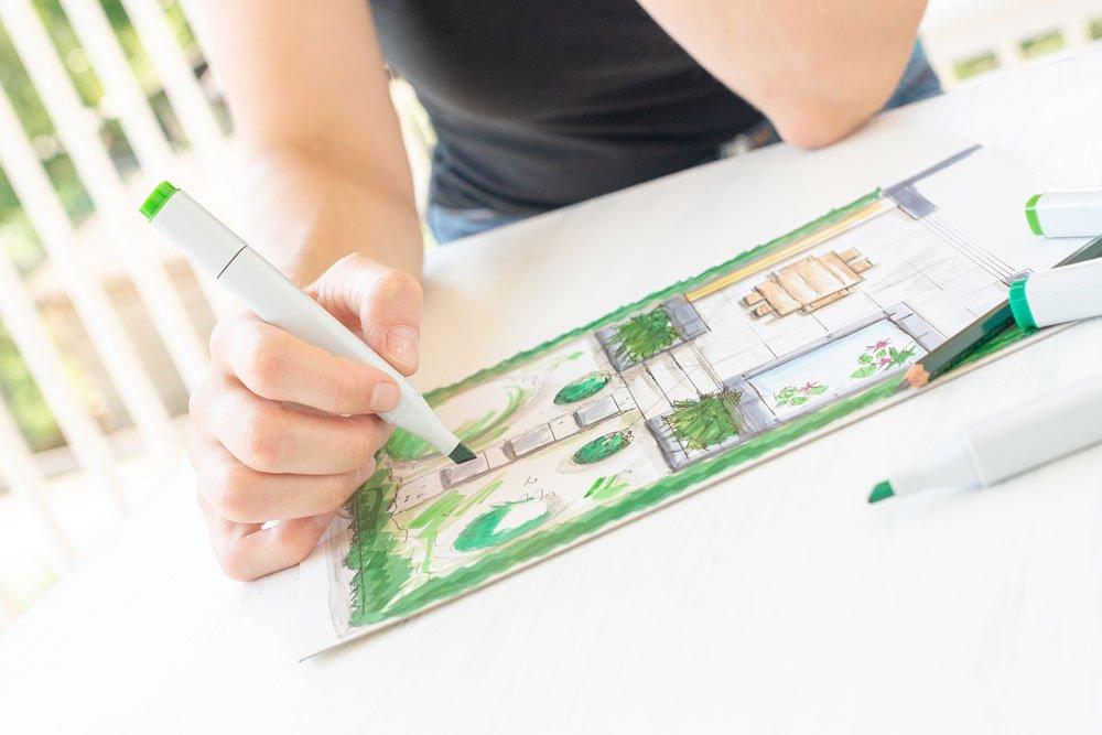 Garten per Skizze planen