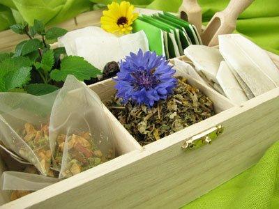 Aus Kornblumen können Sie Tee herstellen
