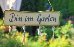 Erholung und Kreativität im Garten