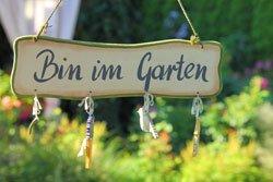 Der Garten ist für viele eine Erholungsstätte