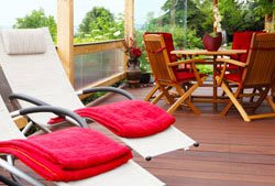 terrasse einrichten 4 tipps. Black Bedroom Furniture Sets. Home Design Ideas