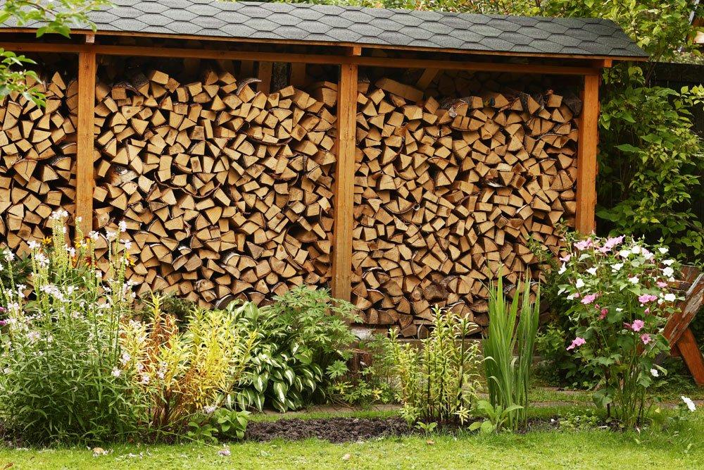Brennholz lagern – Tipps und Ideen