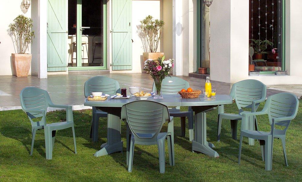 Gartenmöbel aus Plastik