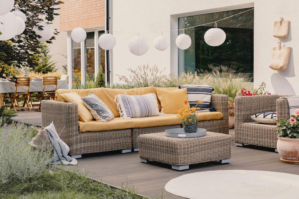 Gartenmöbel aus Polyrattan