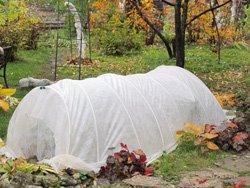Gartenvlies gibt es in unterschiedlichen Stärken