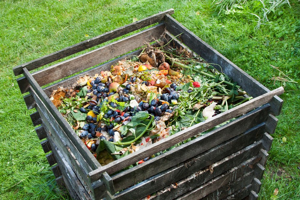 Fallobst Kompost Dünger