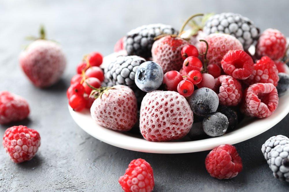Obst einfrieren zum Konservieren