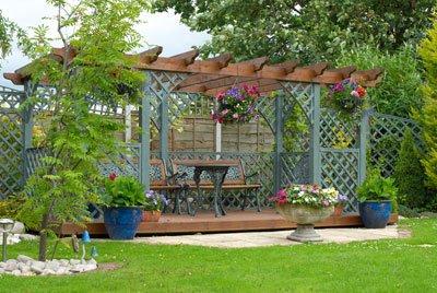 Sonnenschutz Garten Pergola