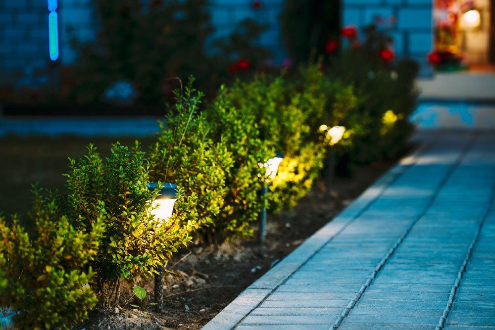 Gartenweg-Beleuchtung
