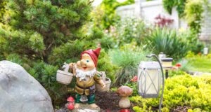 Gartenzwerge reinigen