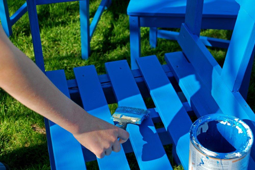 Holzmöbel lackieren