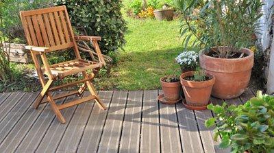 Baunebenkosten Garten Terrasse Überdachung