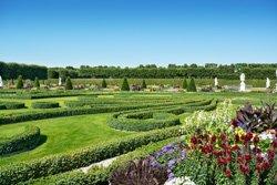 Geometrie und Symmetrie beherrschen den Barockgarten