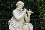Skulpturen französischer Garten