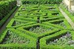 Symmetrie Geometrie französischer Garten
