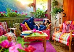 Im Trend: Wohnzimmerfeeling im Garten