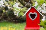 Hochzeitsgeschenke Garten Vogelhaus