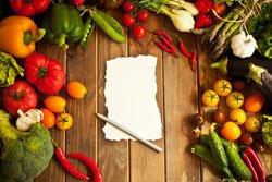 Gemüsesorten festlegen