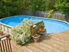 Swimmingpool im Garten integrieren