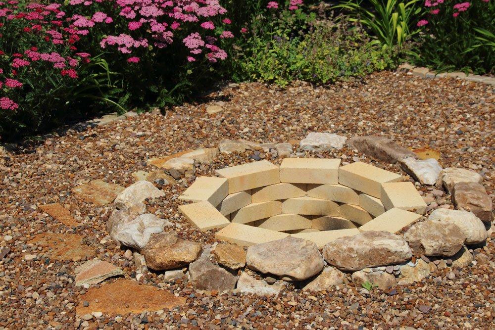Feuerstelle Garten Steine