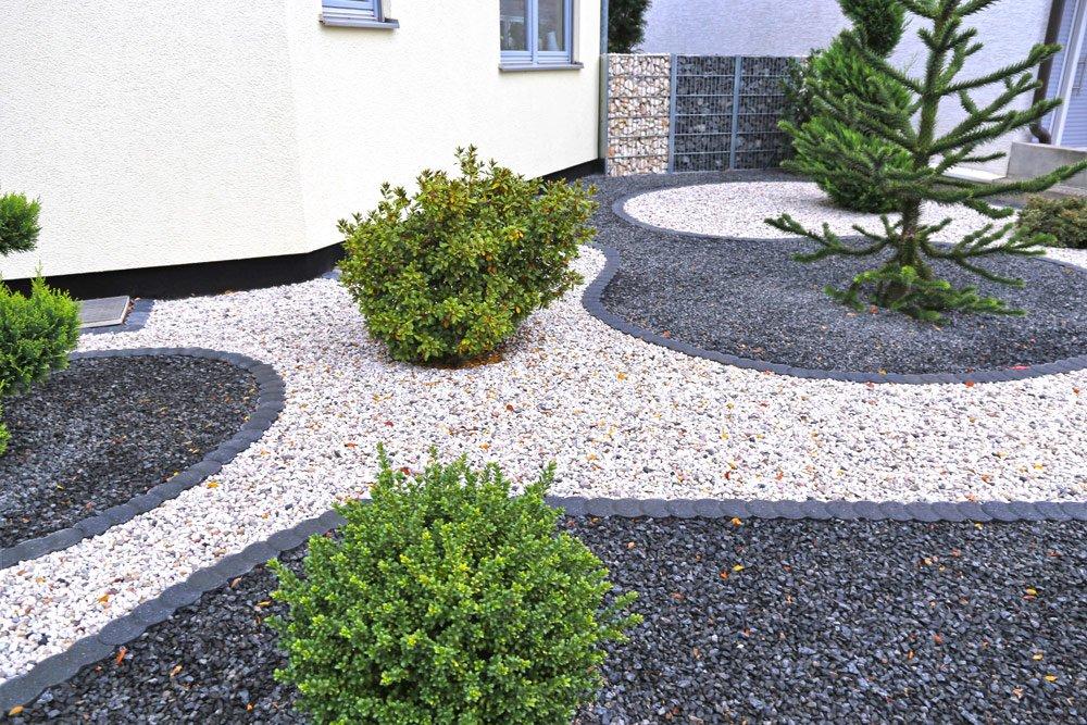 Gartengestaltung mit Zierkies