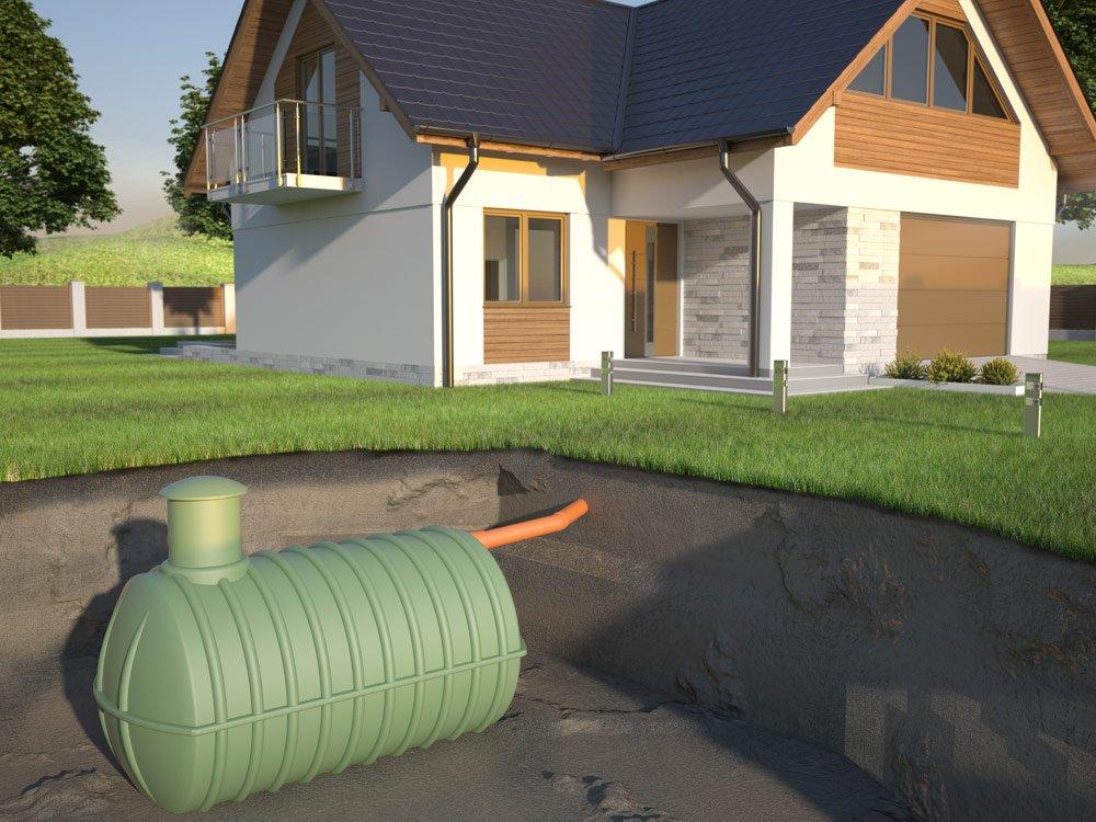 Regenwasser auffangen mit Zisternen