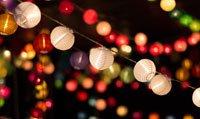 Terrassenbeleuchtung Ideen Lichterketten