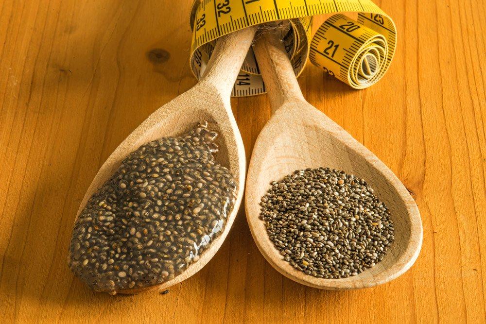 Chia-Samen zum Abnehmen