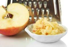 Apfel reiben Geräte
