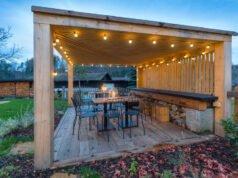 Garten-Pavillon Beleuchtung