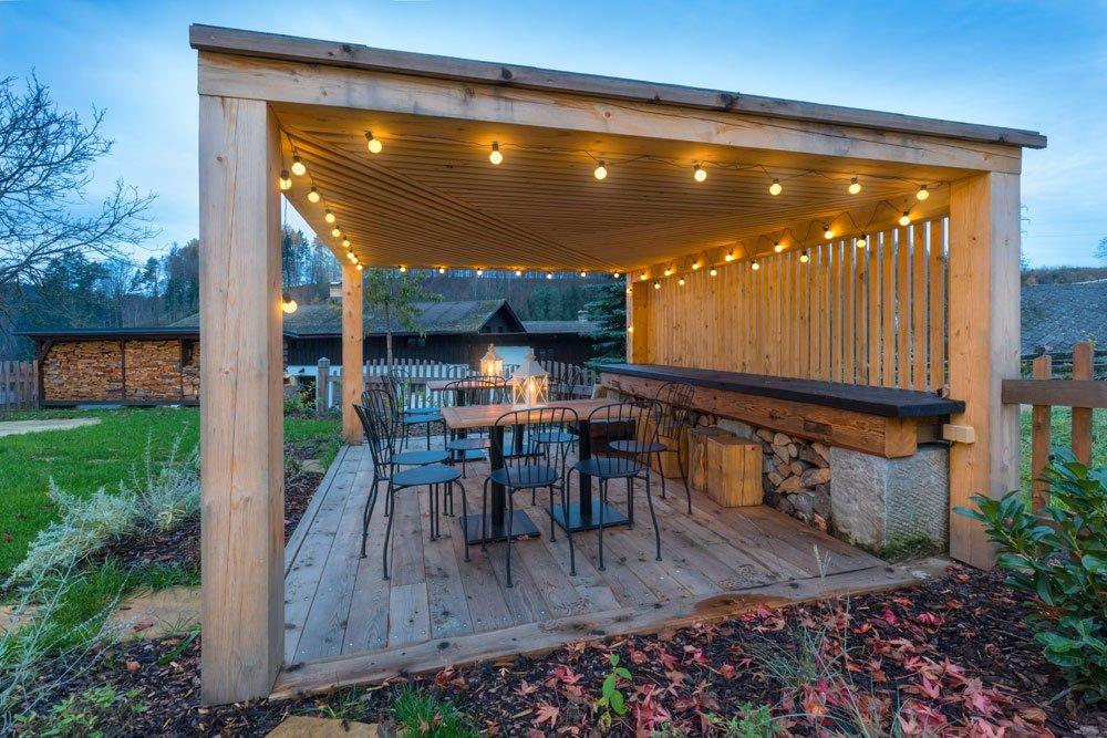Garten-Pavillon Beleuchtung: 4 kreative Beleuchtungsideen vorgestellt