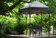 Gartenpavillon aus Metall