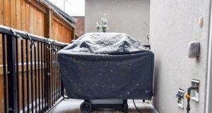Gasgrill winterfest