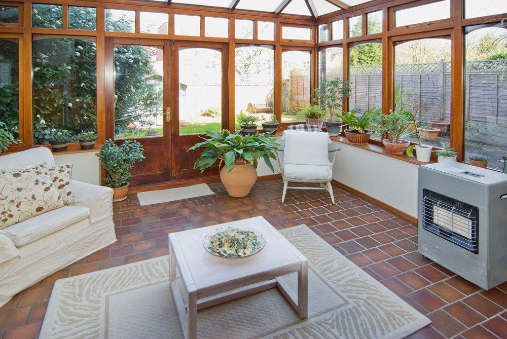 Sichtschutz für den Wintergarten