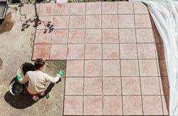 Terrassenfliesen Verlegen Schritt Für Schritt Erklärt - Outdoor fliesen verlegen