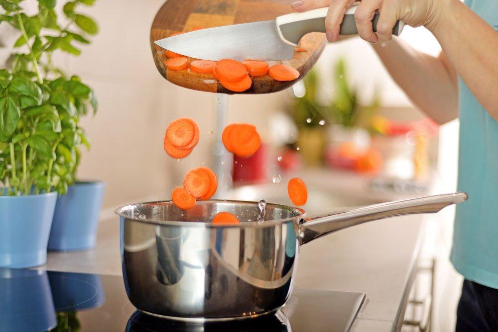 Möhren kochen