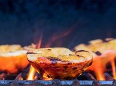 Pfirsich grillen