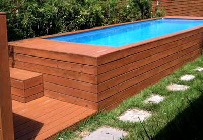 pool mit holz verkleiden anleitung wohn design. Black Bedroom Furniture Sets. Home Design Ideas