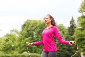 Sport Garten Seil springen