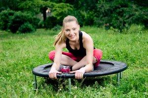 Sport Garten Trampolin