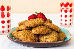 Sie können sogar Kekse mit Chia-Samen backen